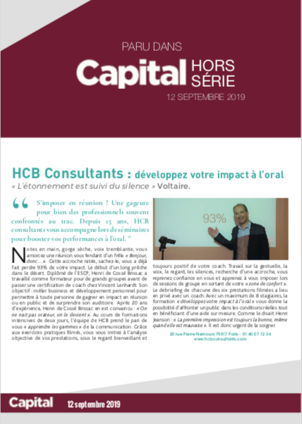 article capital HCB Consultants